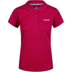 Regatta Maverick IV SS Shirt Damen dark cerise